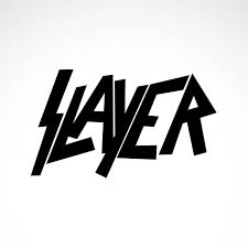 Simple color vinyl Slayer Logo | Stickers Factory
