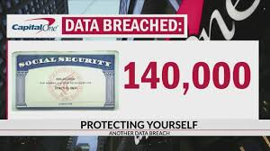 Capital One's data breach bank fraud protect with cybersecurity awareness and phish simulation training social security numbers