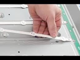 samsung tv replacement screen. led tv replacement help for replacing backlights in your - how to order leds youtube samsung tv screen