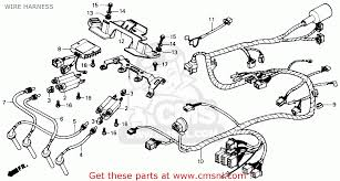 honda cbr600f hurricane 1989 k usa wire harness buy wire harness view large image
