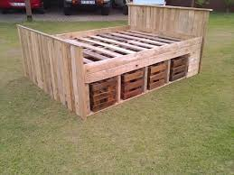 1000 ideas about diy pallet bed on pinterest pallet beds pallet bed frames and bed with headboard bedroomeasy eye upcycled pallet furniture ideas