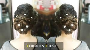 Coiffure Tendance 2016 Chignon Tress Youtube