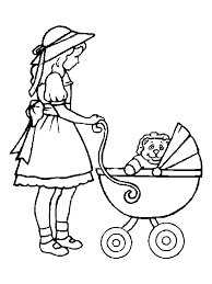 Small Picture Baby Doll Kids Coloring Pages 28102 Bestofcoloringcom