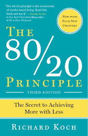 The 80/20 Principle: The Secret To Achieving More With Less: Richard ...