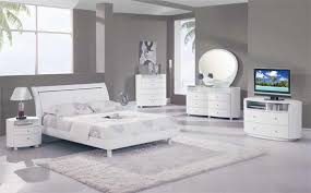 white bed brown furniture white bedroom furniture House Decor Picture