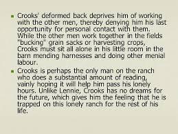 curley s wife sliderbase crooks deformed back deprives him of working the other men thereby denying him