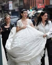 Michelle Harper Got Married in a Fluffy Gown