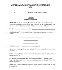 Security Guard Services Agreement Standard Service Template Internal ...