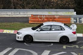 Spied: Subaru WRX STI Spec C Spotted Testing on the Nürburgring ...
