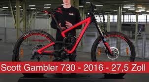 scott gambler 730 2016 27 5 zoll fully youtube