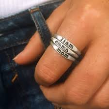 slate and tell rings