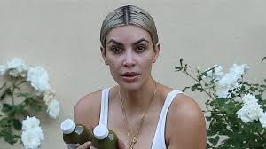 kim kardashian goes makeup free during beverly hills workout see the pic enternment tonight