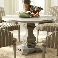 appealing round dining table with leaf extension