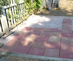Diy Patio How To Build A Paver Patio On A Slope
