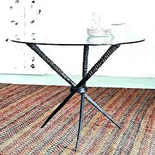 diy table base for glass top glass coffee table base ideas glass dining table base ideas