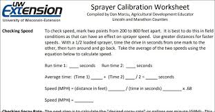 Boom Sprayer Calibration Chart Calibrating A Sprayer 4 Of The Best Apps Calculators And