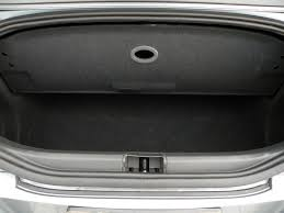 chrysler crossfire convertible trunk space. 2005 chrysler crossfire limited convertible photo 39 fort myers fl 33901 adjustable partition for extra trunk space