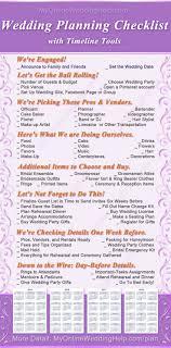 Free Online Printable Wedding Checklist Download Them Or Print