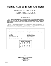 Lecture Evaluation Form Classy B Mechanic Evaluation Alternate Equivalent Form B48 Ramsay