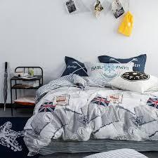 svetanya uk flag print duvet cover set queen double full twin size bedlinen 100 cotton bedding sets single duvet double duvet from qinqinmeling