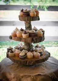 2 Tier Cupcake Stand Rustic Cupcake Stand 2 Tier Wedding Cupcake