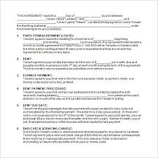 Rental Contract Template Word 13 Rental Contract Templates Pdf Docs Word Free Premium