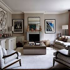 Elegant grey and taupe living room | Living room decorating | Homes and  Gardens | Housetohome