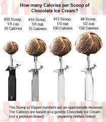 Scoop Size Matters Nutrition Education Vanilla Ice Cream