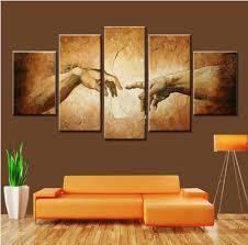 creation of adam hands hand of god wall art canvas on religious wall art canvas with creation of adam multi panel canvas wall art mighty paintings