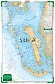 How To Read Navigation Charts Barrier Islands Boca Grande To Estero Bay Large Print Navigation Chart 25e