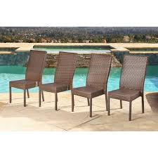 dining chairs set of 4. Abbyson Palermo Outdoor Wicker Dining Chairs (Set Of 4) Set 4