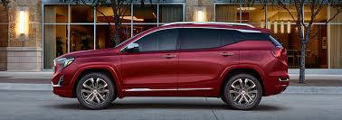 2018 gmc passenger van. modren van image of the allnew 2018 terrain small suv left exterior parked on a for gmc passenger van