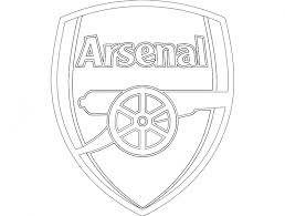 Logo first created in 1949, was first used on kits in 1990. Arsenal Logo Black And White Png