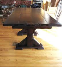rustic elements furniture. Rustic Elements Furniture Creates Custom Pedestal Tables In A Variety Of Colors, Styles, And E