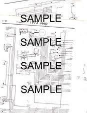 jeep j2000 1973 jeep wagoneer j100 j2000 j3000 j4000 2wd 4wd 73 wiring chart diagram