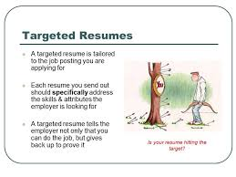 targeted resume sample branded and targeted resume basics bc youtube
