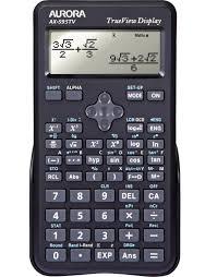 aurora scientific calculators signpost educational aurora scientific calculators