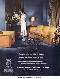 1940s usa international furniture pany magazine advert exrjj0