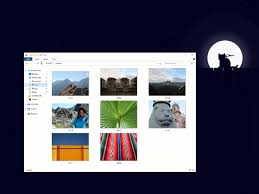 Windows Fall Theme Windows 10 File Explorer Microsoft Shows Off Dark Theme You