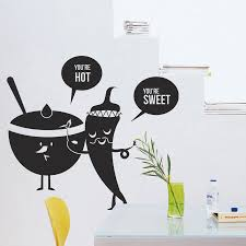 kitchen wall art kitchen vinyl wall decal fruit vegetables sweet spicy food funny cartoon mural art wall sticker restaurant room decoration on wall art pictures of food with wall art designs kitchen wall art kitchen vinyl wall decal fruit