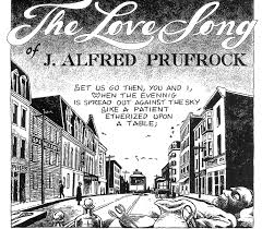 picturing prufrock poetry popular culture  julian peters illustration of the love song of j