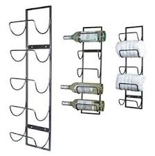 wine towel rack. Image Is Loading 5-Bottle-Wall-Mounted-Metal-Wine-Rack-Towel- Wine Towel Rack