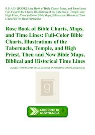 Rose Bible Maps And Charts R E A D Book Rose Book Of Bible Charts Maps And Time