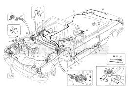 maserati biturbo spider > electrical ignition order online maserati biturbo spider wiring harness and electrical components l h steering diagram