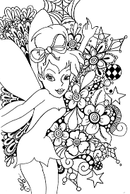 Free Printable Tinkerbell Coloring Pages For