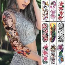 Di Grandi Dimensioni Manica Del Braccio Del Tatuaggio Giapponese