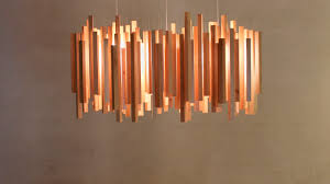 various length of stick wood pendant lights shade abtract puzzle brilliant contemporary modern inspiration