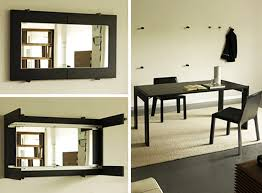Astonishing Folding Dining Table On Wall 84 About Remodel Small Home  Remodel Ideas with Folding Dining Table On Wall