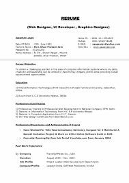 New Resume Format For Freshers Pdf Resume Examples