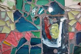 Jacqueline Barnett 12″ Trivet – 2009 | Seattle Mosaic Arts